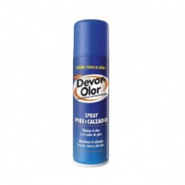 DEVOR OLOR DESODORANTE ANTITRASP PIES Y CALZADO SPRAY 180 ML