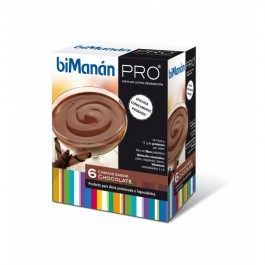 BIMANAN PRO CREMA CHOCOLATE 6 UDS