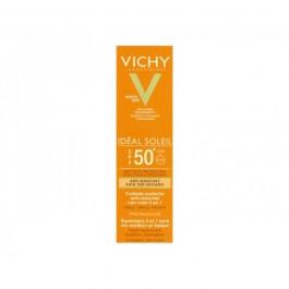 VICHY IDEAL SOLEIL SPF50 CUIDADO ANTIMANCHAS 3 EN 1 COLOR 50 ML