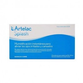 ARTELAC SPLASH COLIRIO OJOS SECOS 05 ML 30 UNIDOSIS