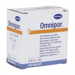 ESPARADRAPO OMNIPOR 5MX25CMOBLIG 4U