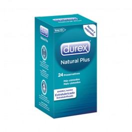 DUREX PRESERV NAT PLUS EASY ON 24ACUERDO