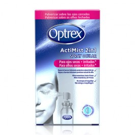 OPTREX ACTIMIST 2 EN 1 SPRAY OCULAR OJOS SECOS E 10 ML