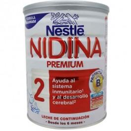 LECHE 2¬EDAD POLVO NIDINA 2PREMIUM 800 G