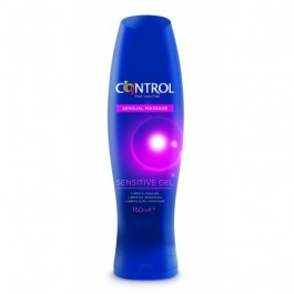 CONTROL GEL SENSUAL MASSAGE SENSITIVE LUBRICANTE 150 ML
