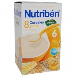 NUTRIBEN 8 CEREALES Y MIEL EFECTO BIFIDUS 600GR