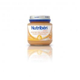 NUTRIBEN BEBE INICIO POSTRE DE FRUTAS CON CEREALES 130 GR
