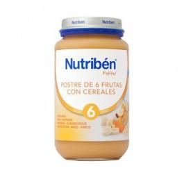 NUTRIBEN JUNIOR POSTRE DE FRUTAS CON CEREALES 200 GR