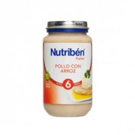 NUTRIBEN JUNIOR POLLO CON ARROZ 200 GR