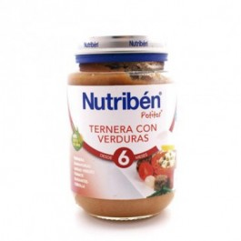 NUTRIBEN JUNIOR POLLO TERNERA VERDURAS 200 GR
