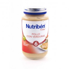 NUTRIBEN JUNIOR POLLO CON VERDURAS 200 GR