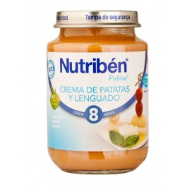 NUTRIBEN JUNIOR LENGUADO CON PATATAS 200 G