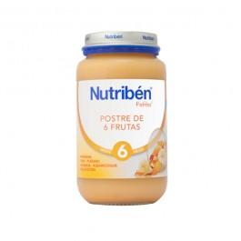 NUTRIBEN 250 GR POSTRE DE 6 FRUTAS