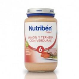 NUTRIBEN 250 GR JAMON TERNERA VERDURAS