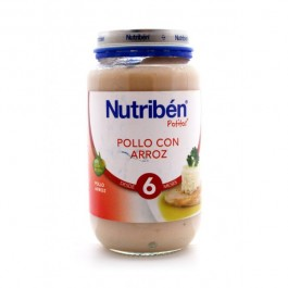 NUTRIBEN 250 GR POLLO CON ARROZ