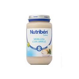 NUTRIBEN 250 GR MERLUZA CON ARROZ