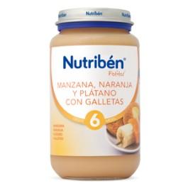 NUTRIBEN 250 GR MANZANA NARANJA PLATANO CON GALLETA