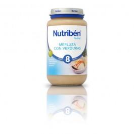 NUTRIBEN 250 GR MERLUZA CON VERDURA