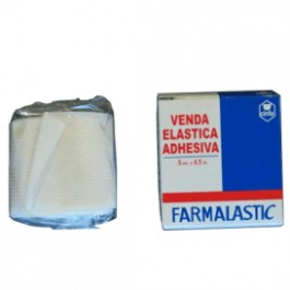VENDA ELASTICA ADHESIVA FARMALASTIC 45 X 5