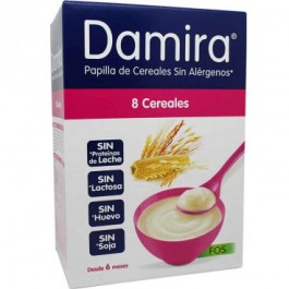 DAMIRA PAPILLA 8 CEREALES FOS 600 G  300 G 2 ENVASES