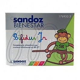 SANDOZ BIENESTAR BIFIDUS JR MONODOSIS 10 SOBRES