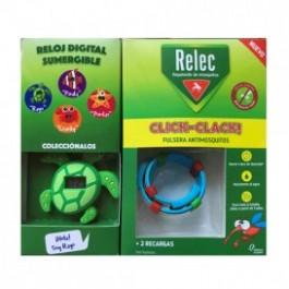 RELEC PULSERA CLICKCLACK TORTUGA