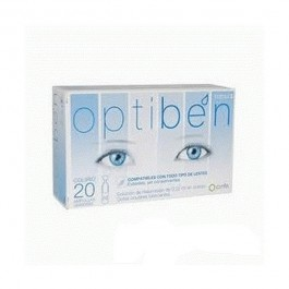 OPTIBEN GOTAS SEQUEDAD OCULAR 025 ML 20 AMP