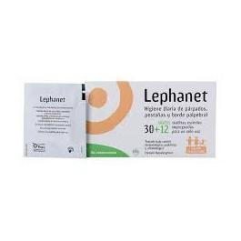 LEPHANET 30 TOALLITAS LOCION LIMPIADORA OJOS