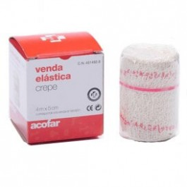VENDA ELASTICA CREPE ACOFAR 4 M X 5 CM