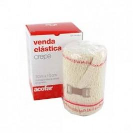 VENDA ELASTICA CREPE ACOFAR 10 M X 10 CM