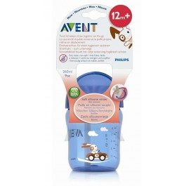 AVENT PHILIPS VASO BOQUILLA 260 ML AZUL