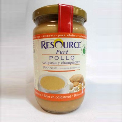 RESOURCE PURE POLLO PASTA CHAMP 300 G