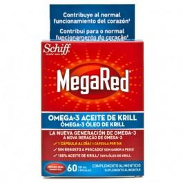MEGARED 500 OMEGA 3 ACEITE DE KRILL 60 CAPSULASACUERDO
