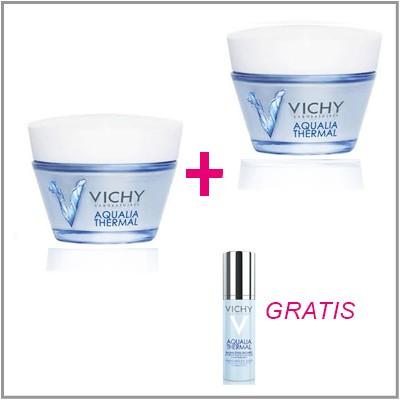 2 VICHY AQUALIA THERMAL SPA + CONTORNO DE OJOS GRATIS